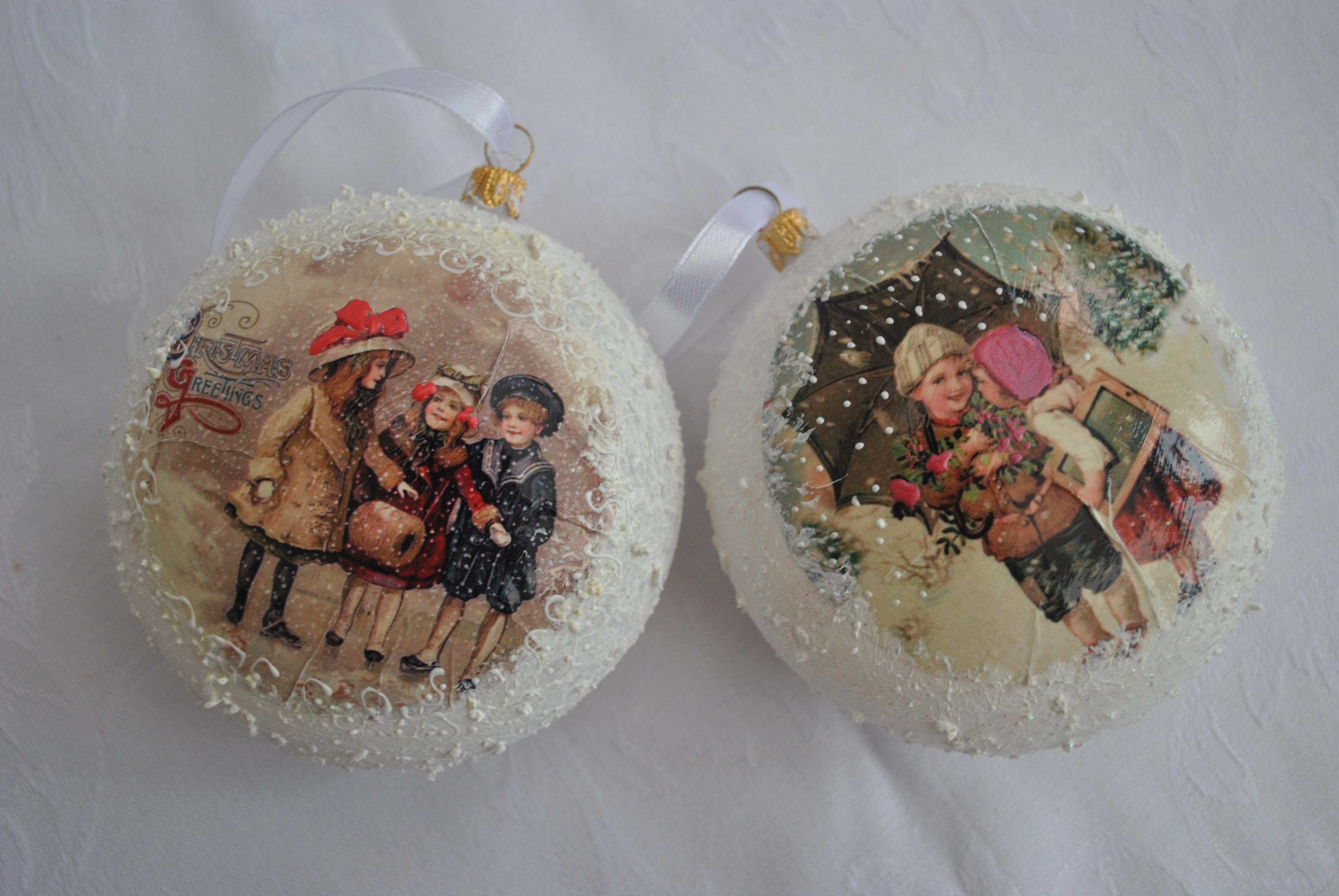 art deco christmas ornaments