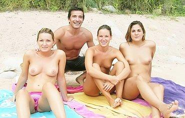 high school beach party