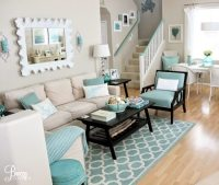 Easy Breezy Living in an Aqua Blue Cottage - Beach Bliss ...