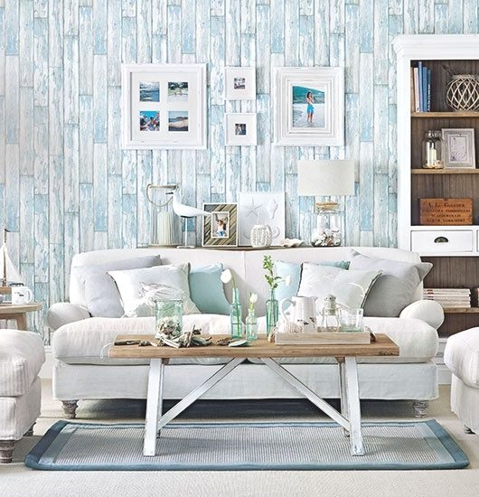 Soft Blue & White Decor Ideas To Turn Your Living Room