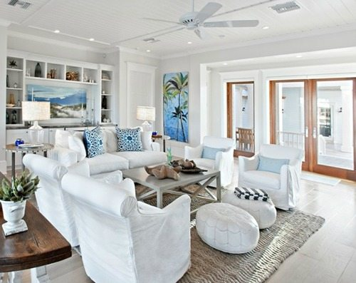 Floor Pillows \ Poufs - Beach Bliss Living - Decorating and - poufs for living room