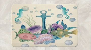 10 Nautical Bath Mats