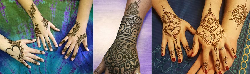 Get a Henna Tattoo in Orlando FL