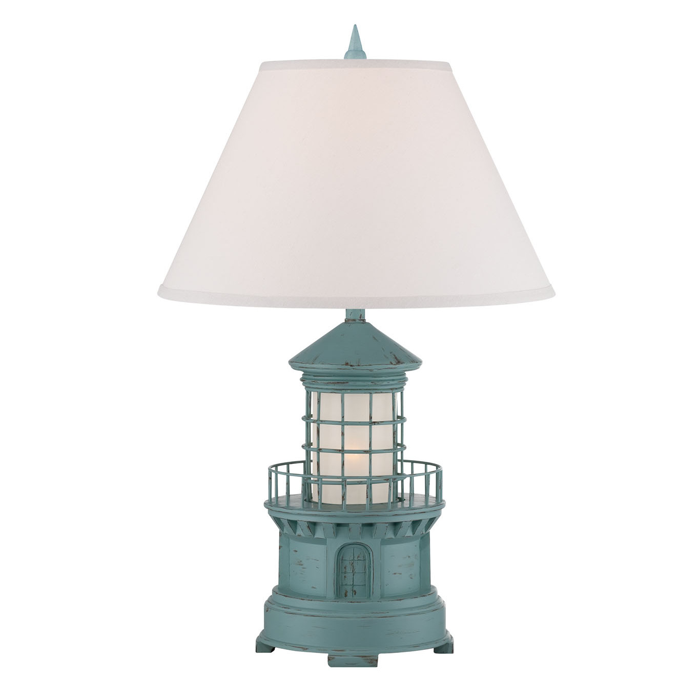 Coastal Lamps Cottage Lighthouse Lamp 3 Colors