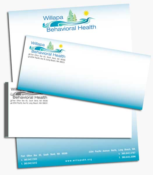 letterhead and envelopes - beachdog