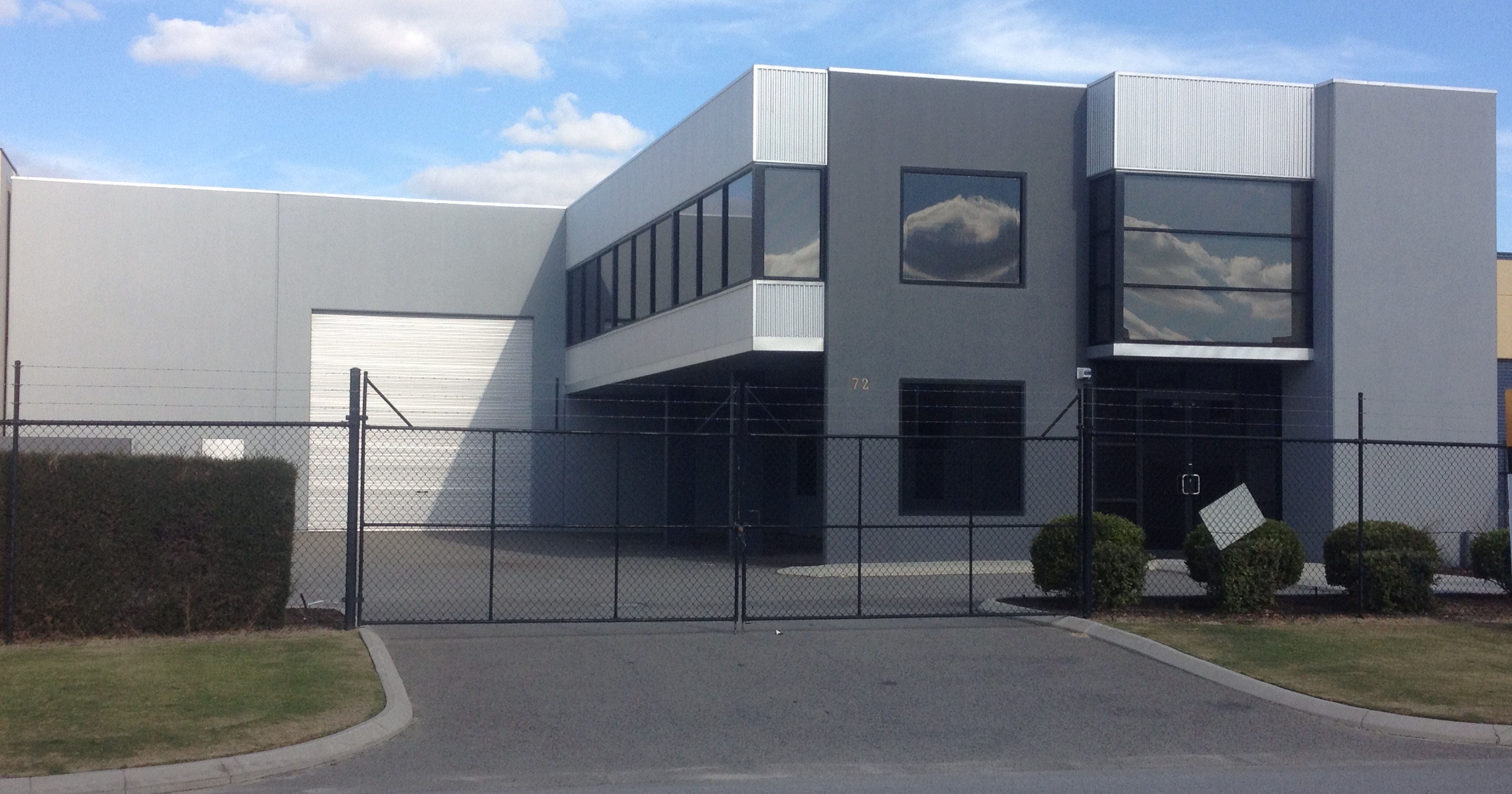 Industrial Grey Paint Commercial And Industrial Painters Gallery Perth Project