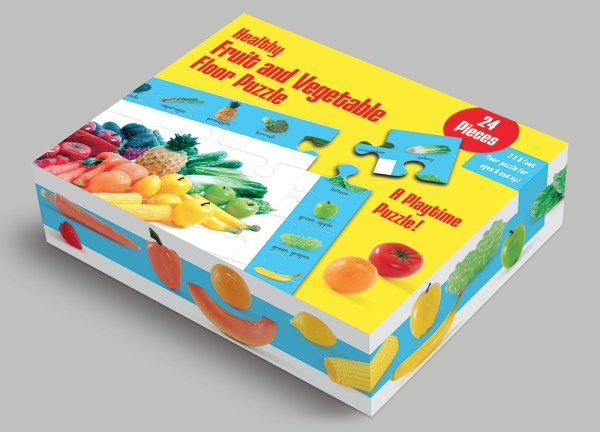 Children's puzzles: photography and package design