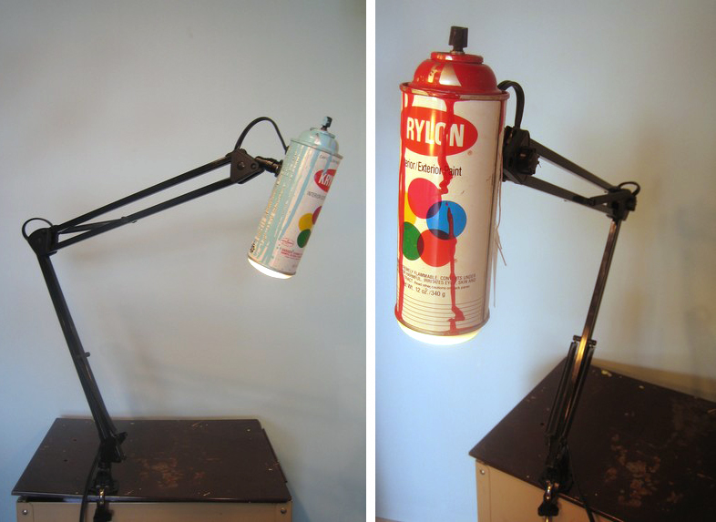 SprayPaintLamp