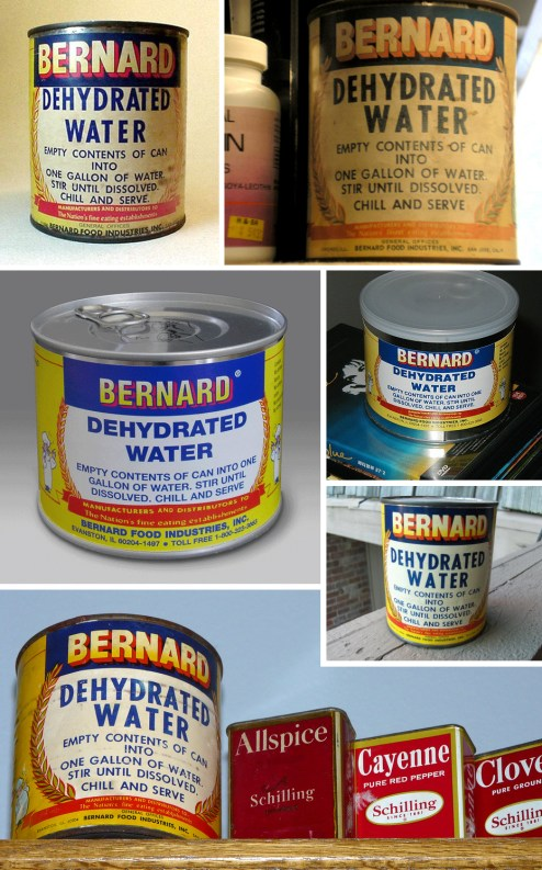 Bernard's Dehydrated Water