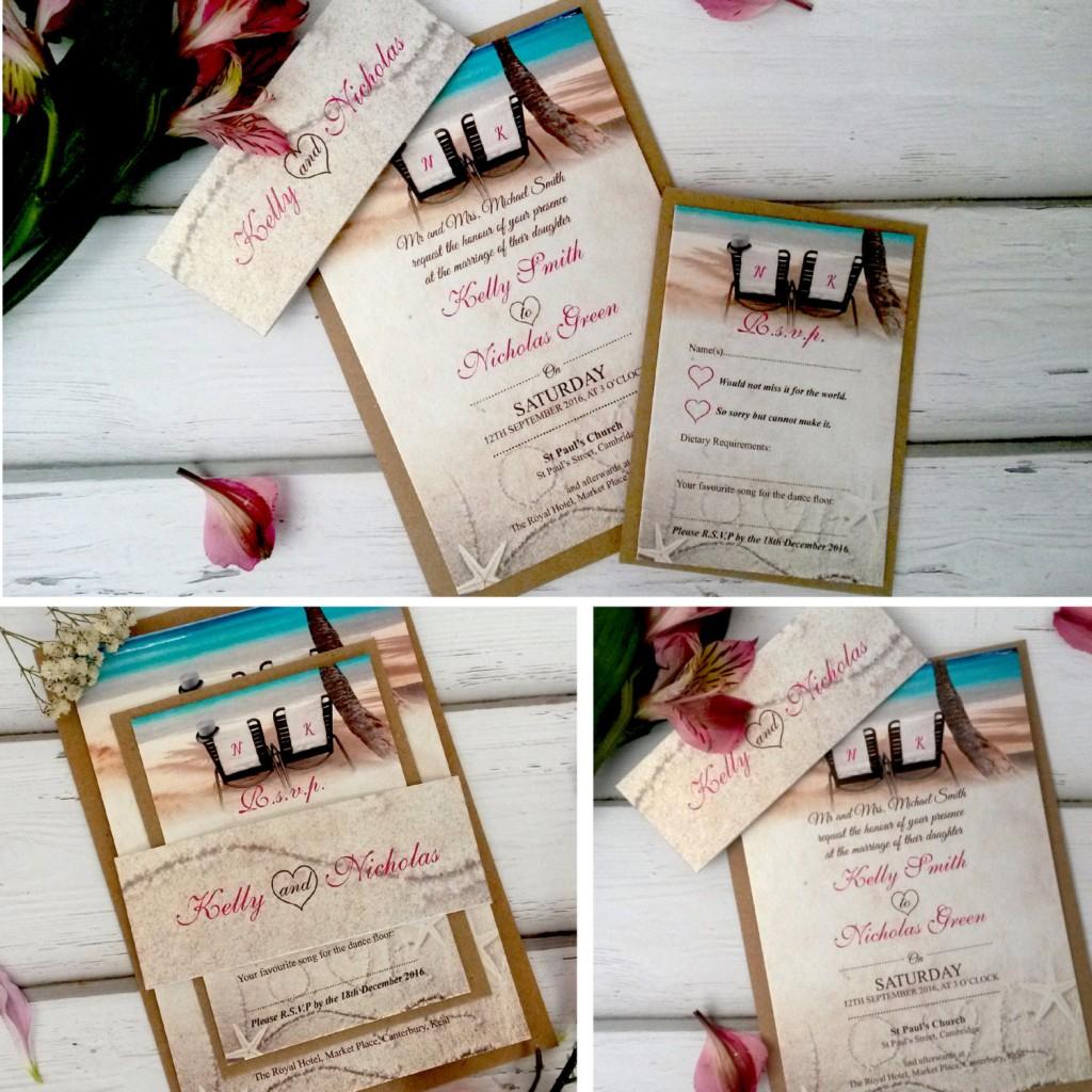 beach wedding invitations beach wedding invitations Sand dollar Wedding Invitation