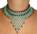 Free Seed Bead Necklace Patterns Instruction