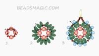 bead earrings on Pinterest | Beaded Earrings, Hoop ...