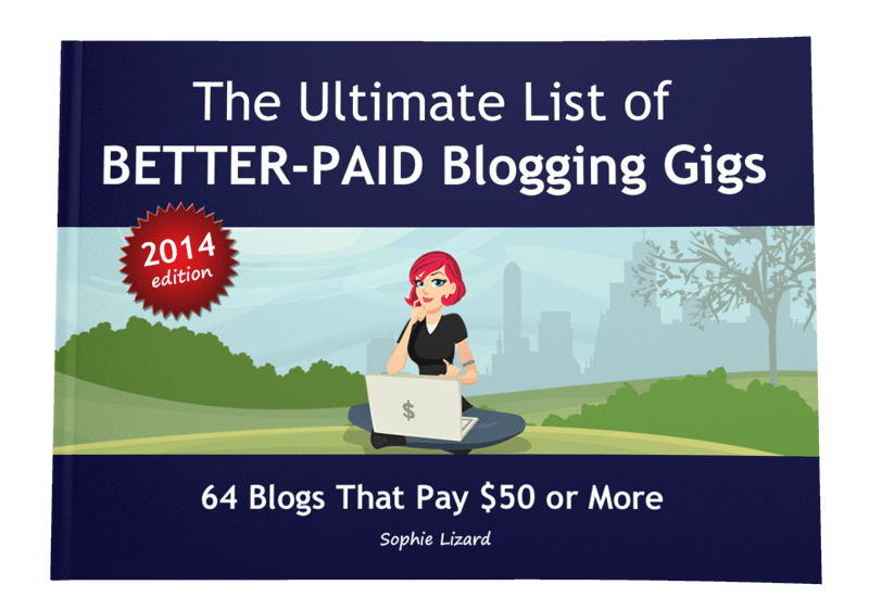 The Ultimate List of Better-Paid Blogging 2014