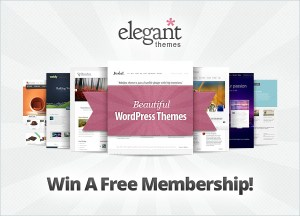 Win a free membership with Elegant Themes!