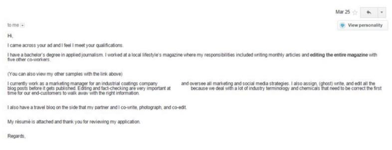 blogging application 3