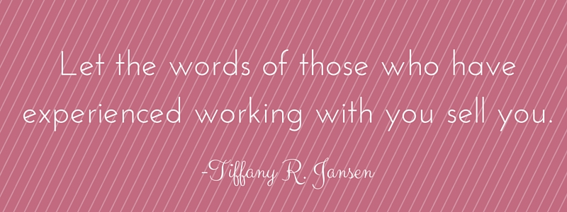 Tiffany quote