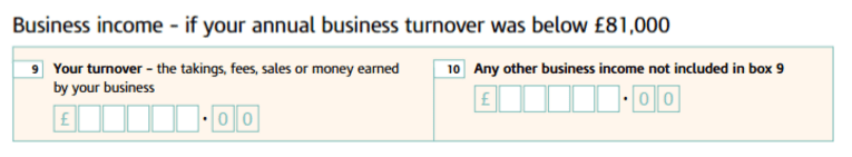 tax forms income summary