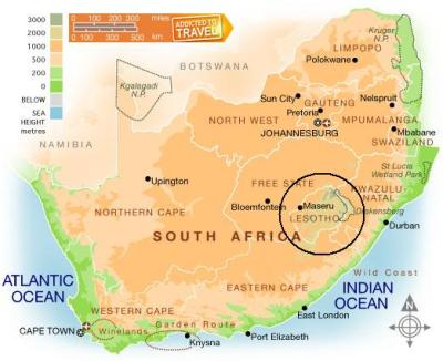 A Trip to Lesotho, Africa | Be A Fun Mum