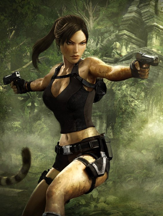 Nathan Drake Iphone Wallpaper The Lara Croft Workout Be A Game Character