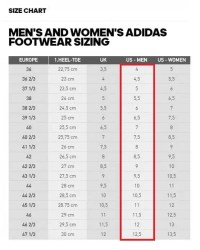 859aa1b74b84b Adidas Yeezy Boost Sizing Chart