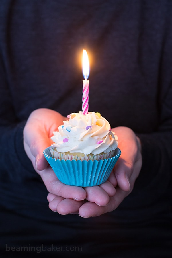 Funfetti Birthday Cupcakes - Beaming Baker