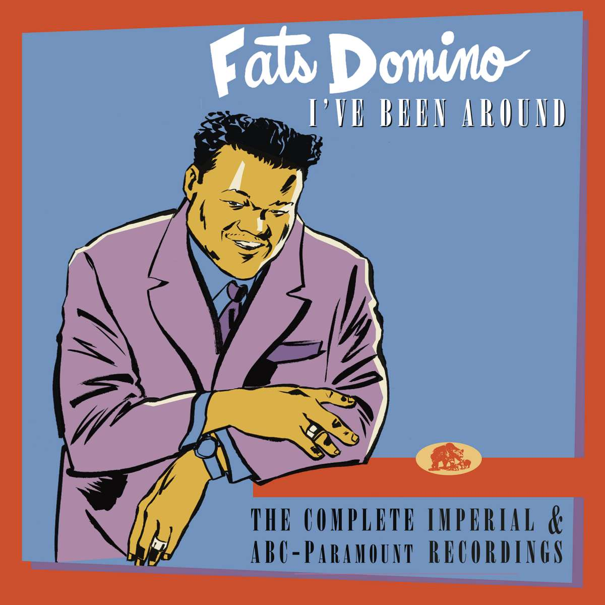 Fats Domino Box Set I Ve Been Around The Complete Imperial And Abc Recordings 12 Cd Dvd Deluxe Box Set Bear Family Records