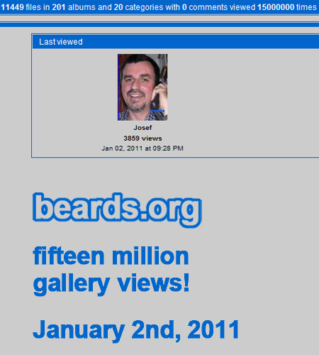 beards.org hits fifteen million gallery views!