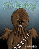Cthulbacca by Bearman Cartoons