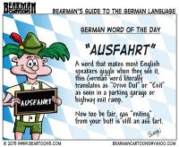 8-12-15-Bearman-Cartoon-German-Language-Ausfahrt