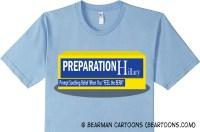 Preparation Hillary Tshirt