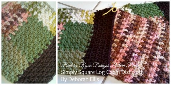 Log Cabin Dishcloths Set