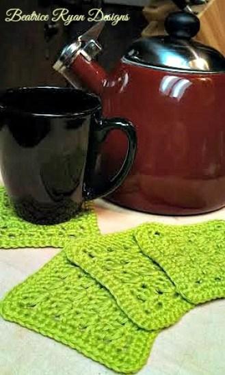 Amazing Grace Coaster Set - Free Crochet Pattern