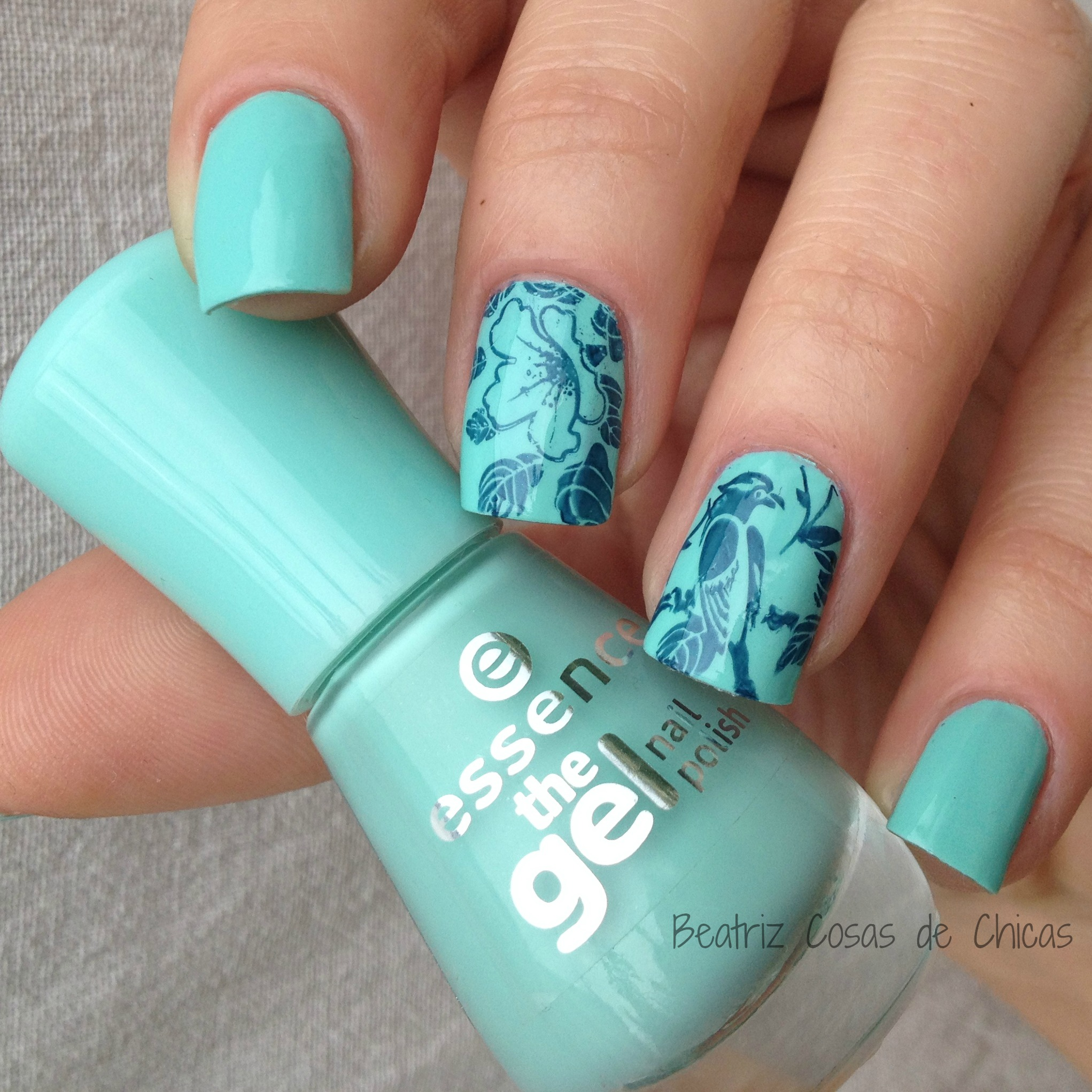 Uñas Gel Sin Lampara Essence Efecto Gel Y Bundle Monster Secret Garden