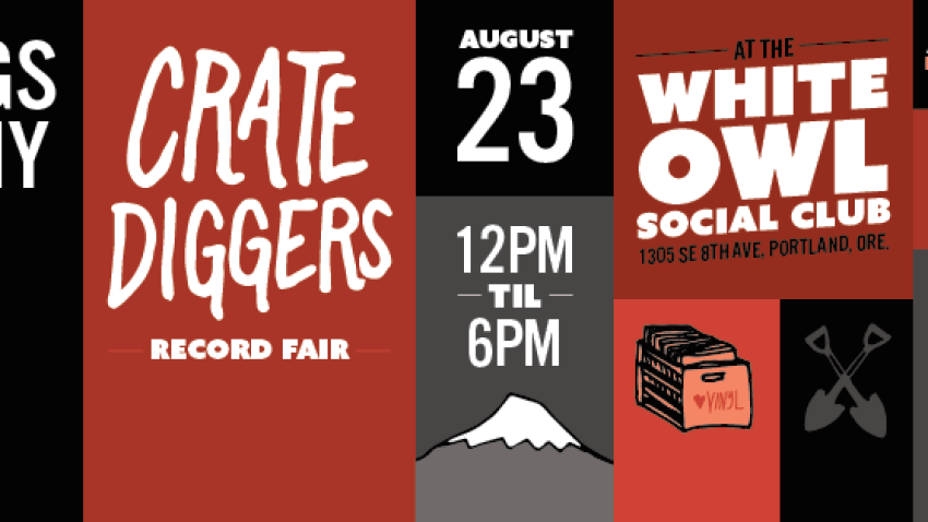 Discogs In the Flesh at Crate Diggers Portland this Saturday