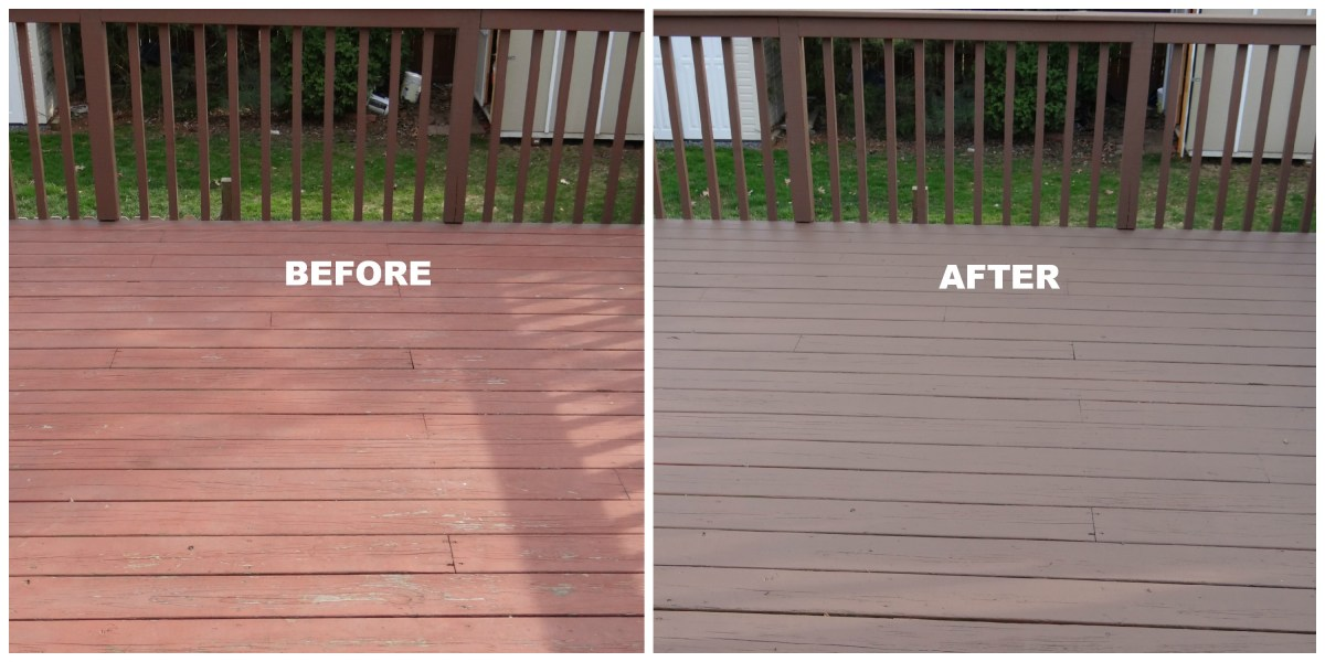 5 Things We Realize From Repainting Deck