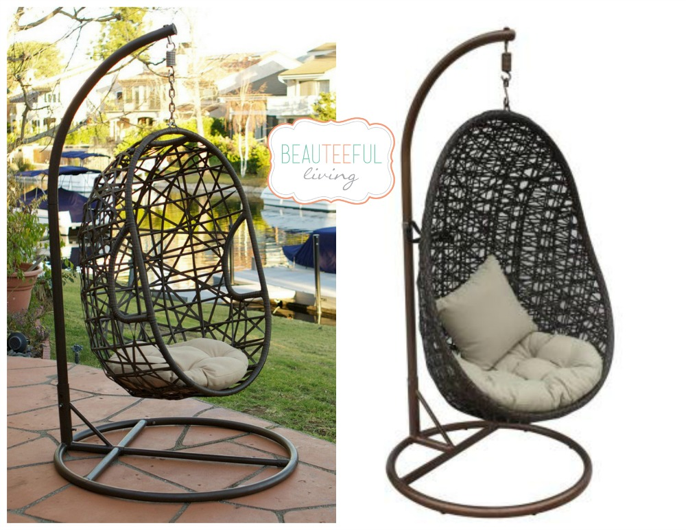Beauteeful Finds - Patio Swings, Firepits, & Sunshade Structures