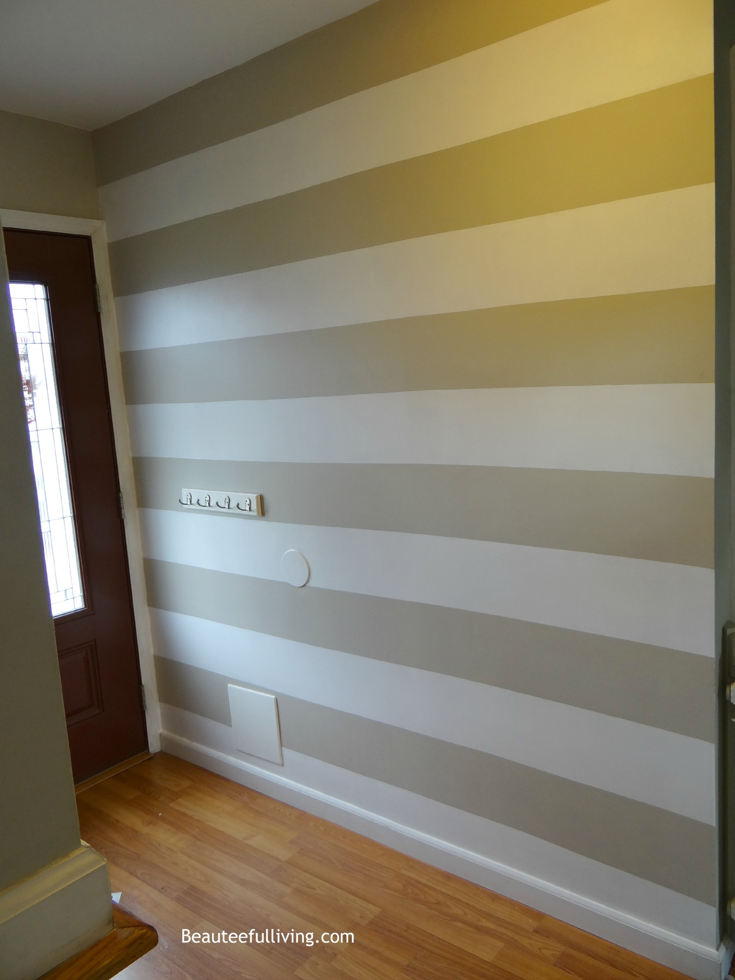 Painting stripes on walls horizontal. charming pink painting ...