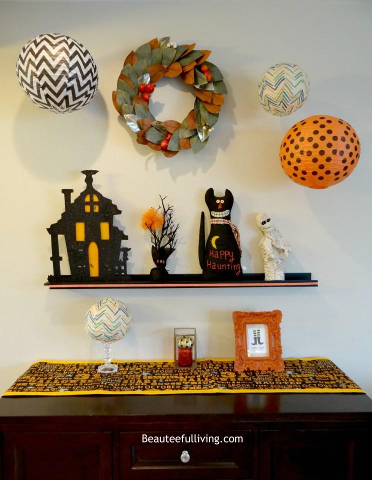 Halloween Wall Display - Beauteeful Living