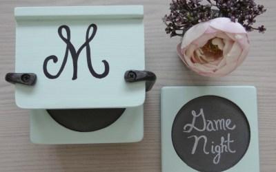 Family Night Coasters – Thrift Flip Challenge