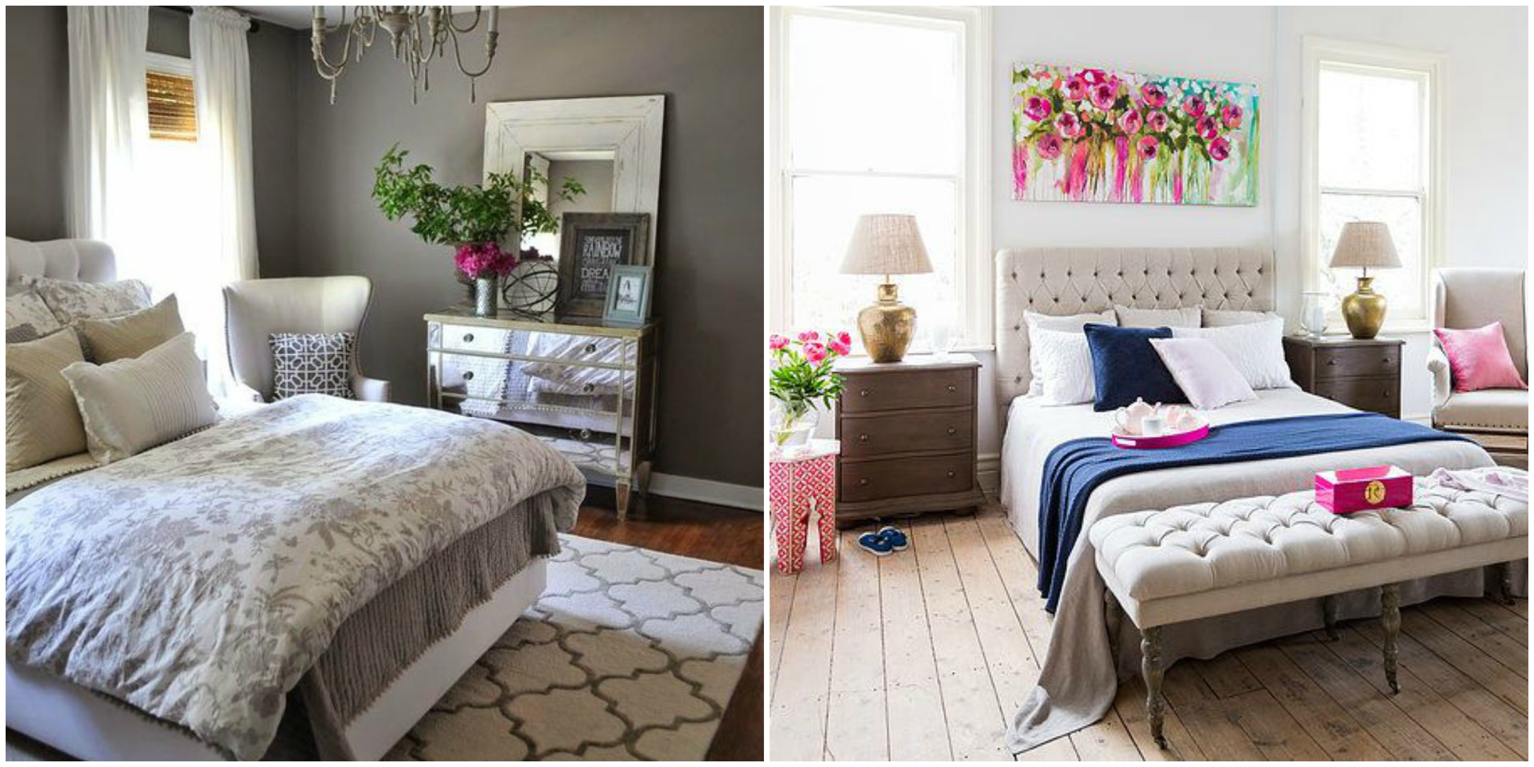 Glam Bedroom Inspiration Modern Glam Master Bedroom Makeover Orc Week 2
