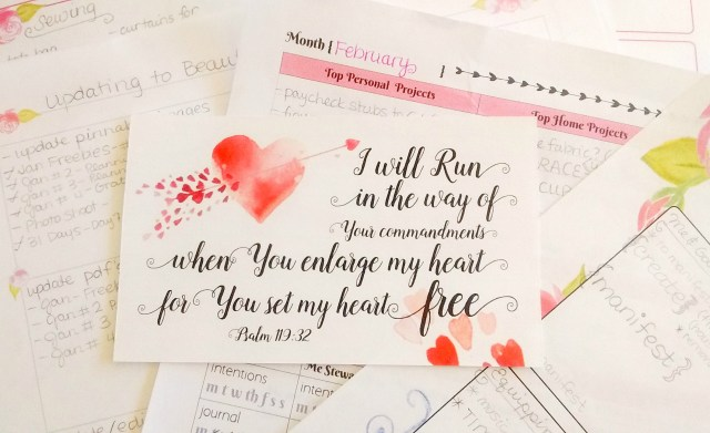 Free Printable: Heart Set Free Index Card