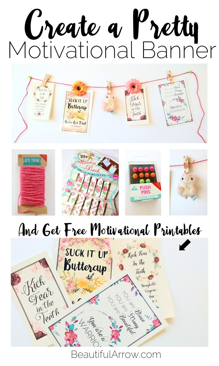 Cute DIY with free printables!