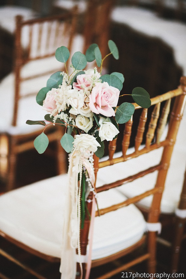 Garden Chairs Wedding Wednesday: Light Pink, White & Gold | Beautiful Blooms