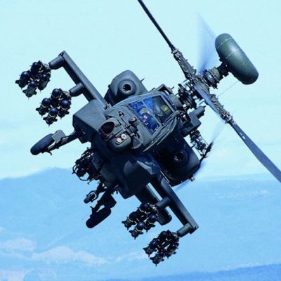 Ah64 Apache Helicopter