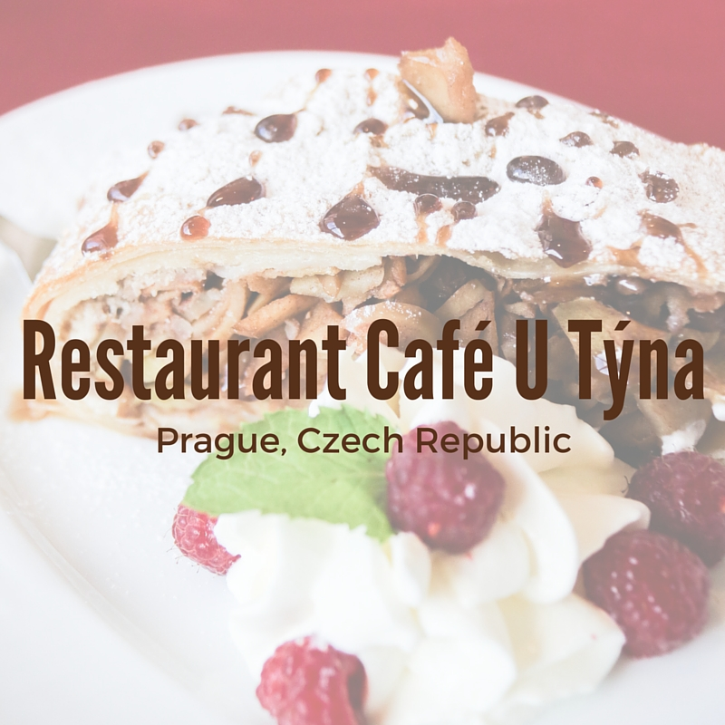 Restaurant Café U Týna, Prague Restaurant Review