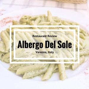 Albergo Del Sole - Restaurant Review