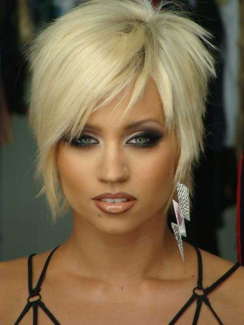 Blonde Curly Bob Razor Cut Hairstyles Beautiful Hairstyles