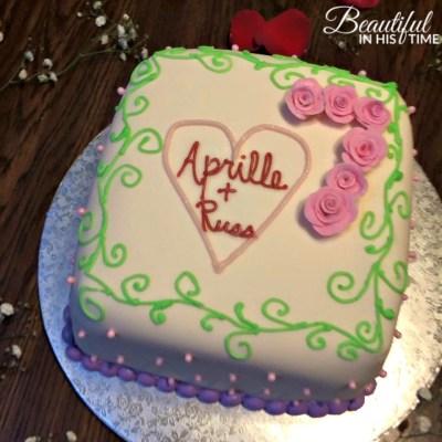 7th anniversary cake 2