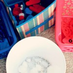 Patriotic Sensory Bin and Color Sorting Activity
