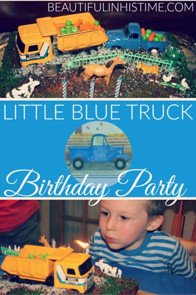 LITTLE BLUE TRUCK PINNABLE